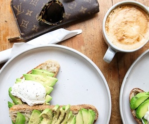 avocado, coffee, and drink image