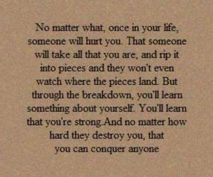 quotes, life, and hurt image