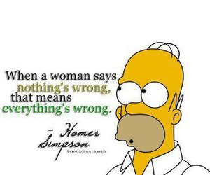 simpsons, homer, and quote image