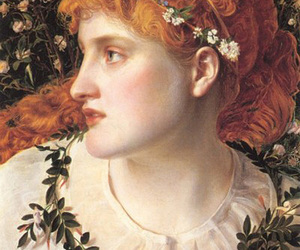 Frederick Sandys, painting, and art image
