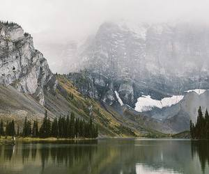 mountains, adventure, and autumn image