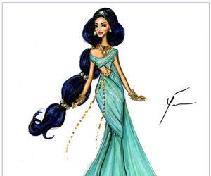 princess, disney, and jasmine image