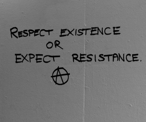 anarchy, graffiti, and respect image
