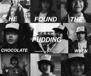 dustin and stranger things image