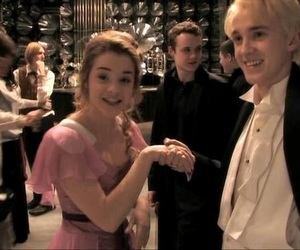 harry potter, emma watson, and tom felton image