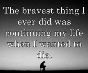 brave, life, and die image