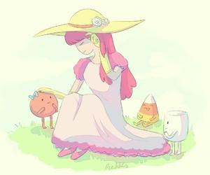Bonnie, aventure time, and la dulce princesa image