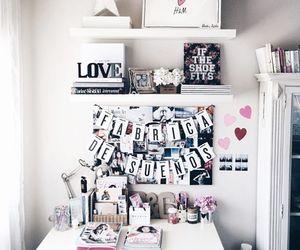 decor, desk, and Dream image