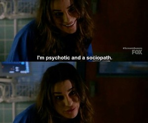 psychotic, quotes, and tv show image