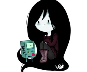 marceline, adventure time, and bmo image