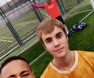 neymar, Barcelona, and justin image