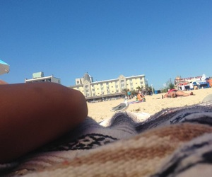 beach, relaxing, and takemeback image