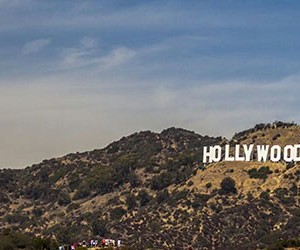 los angeles, hollywood hills, and hollywood sign image
