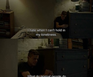 loneliness and sad image