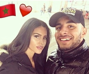 moroccan, amour, and couple image