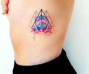 tattoo, art, and harry potter image