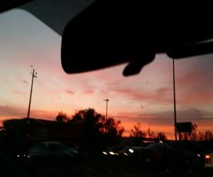 sky, tumblr, and car image