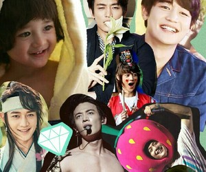 Collage, kpop, and Minho image