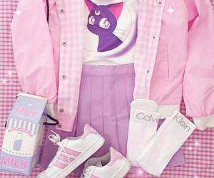 pastel, kawaii, and pink image