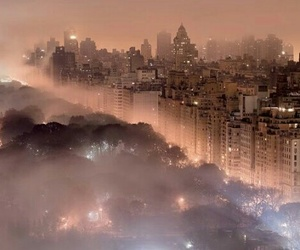 fog and city image
