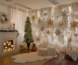 decor, glow, and home image