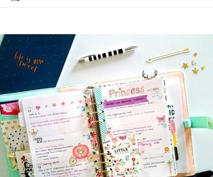 planner, kikki k, and planner supplies image
