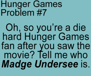 hunger games, madge undersee, and the hunger games image