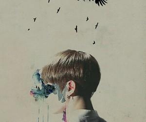 bts, jungkook, and wings image