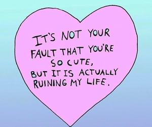 cute, quotes, and heart image