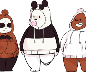 grizzly, escandalosos, and we bare bears image