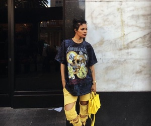 style, yellow, and teyana taylor image