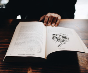 book and vintage image