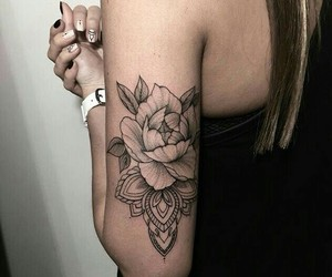 arm, body, and tattoo image