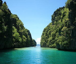 beach, destinations, and Philippines image