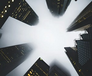 city, building, and light image