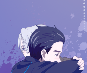 yaoi, yuri on ice, and yuri katsuki image