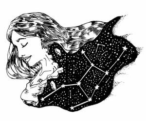 constelaciones, cosmos, and stars image