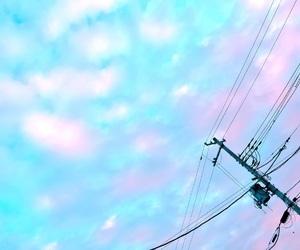 blue, pink, and ゆめかわ image