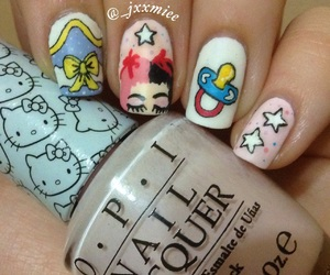 cry baby, crybaby, and nails image