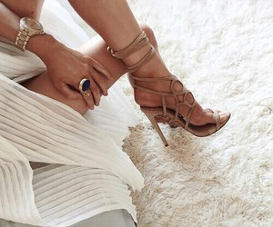 Fashion girls, glamour, and shoes image