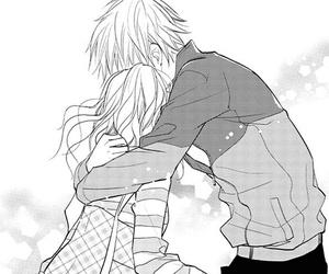 hug, manga, and shoujo image
