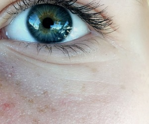 beautiful, blue eyes, and eye image