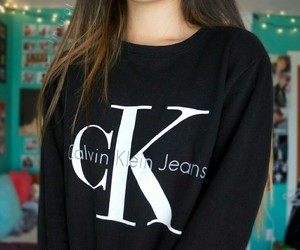 Calvin Klein, quality, and sweater image