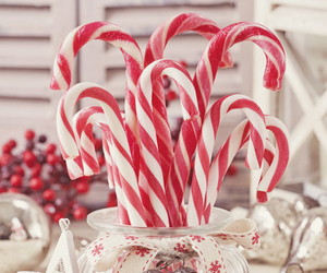 candy cane, detail, and heart image