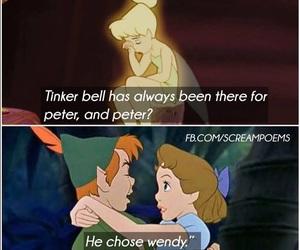 disney, sad, and peter pan image