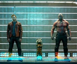guardians of the galaxy, Marvel, and movie image