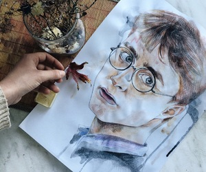color, Dream, and harry potter image