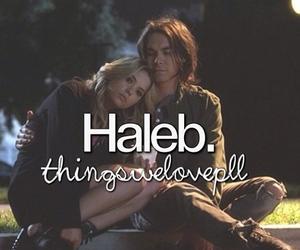 pretty little liars, haleb, and pll image