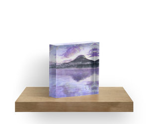 amethyst, aquarelle, and japon image