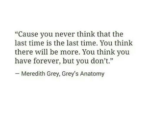 quotes, sad, and grey's anatomy image